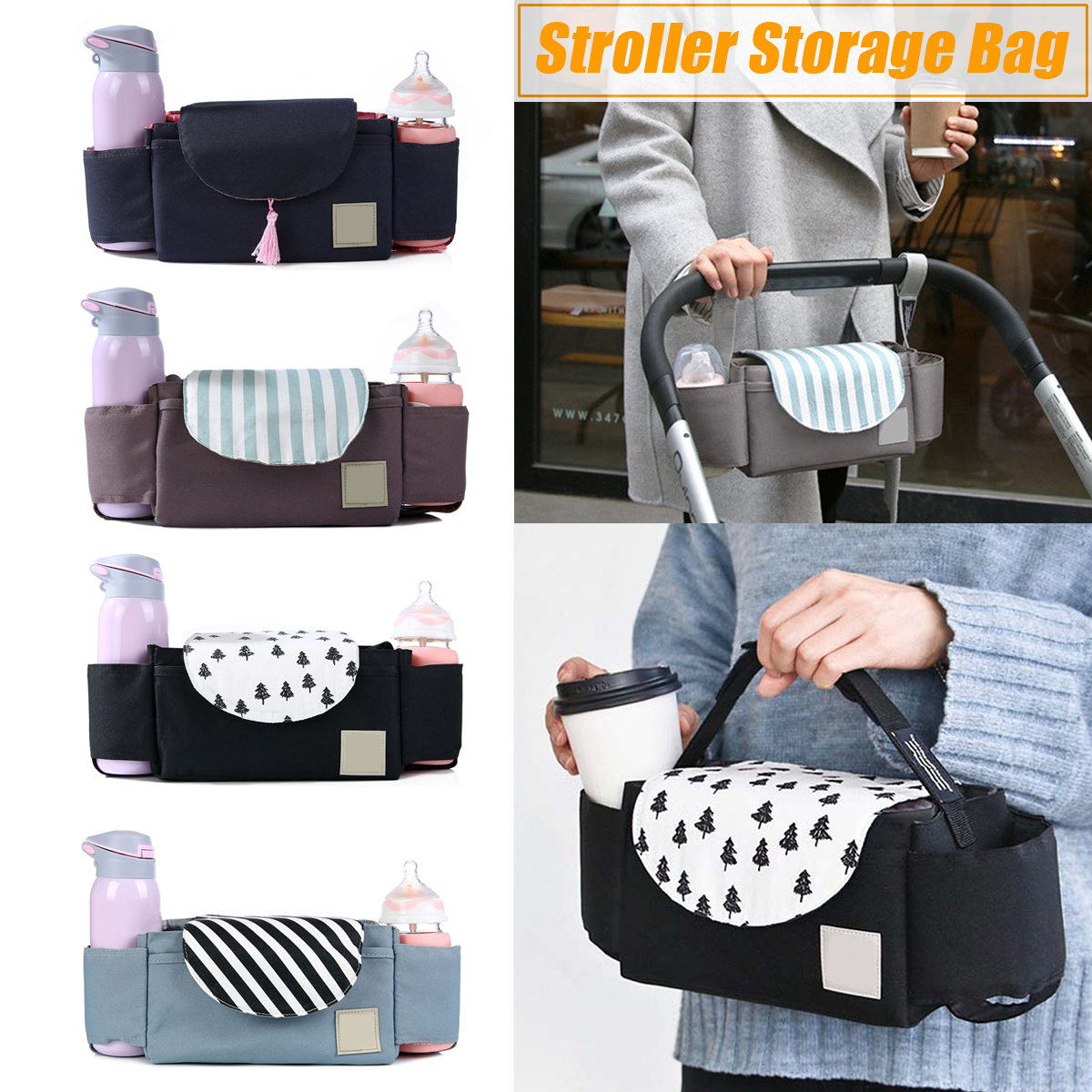 Travel Abroad Pushchair Hiking Packs Outdoor Travel Baby Strollers Storage Bag