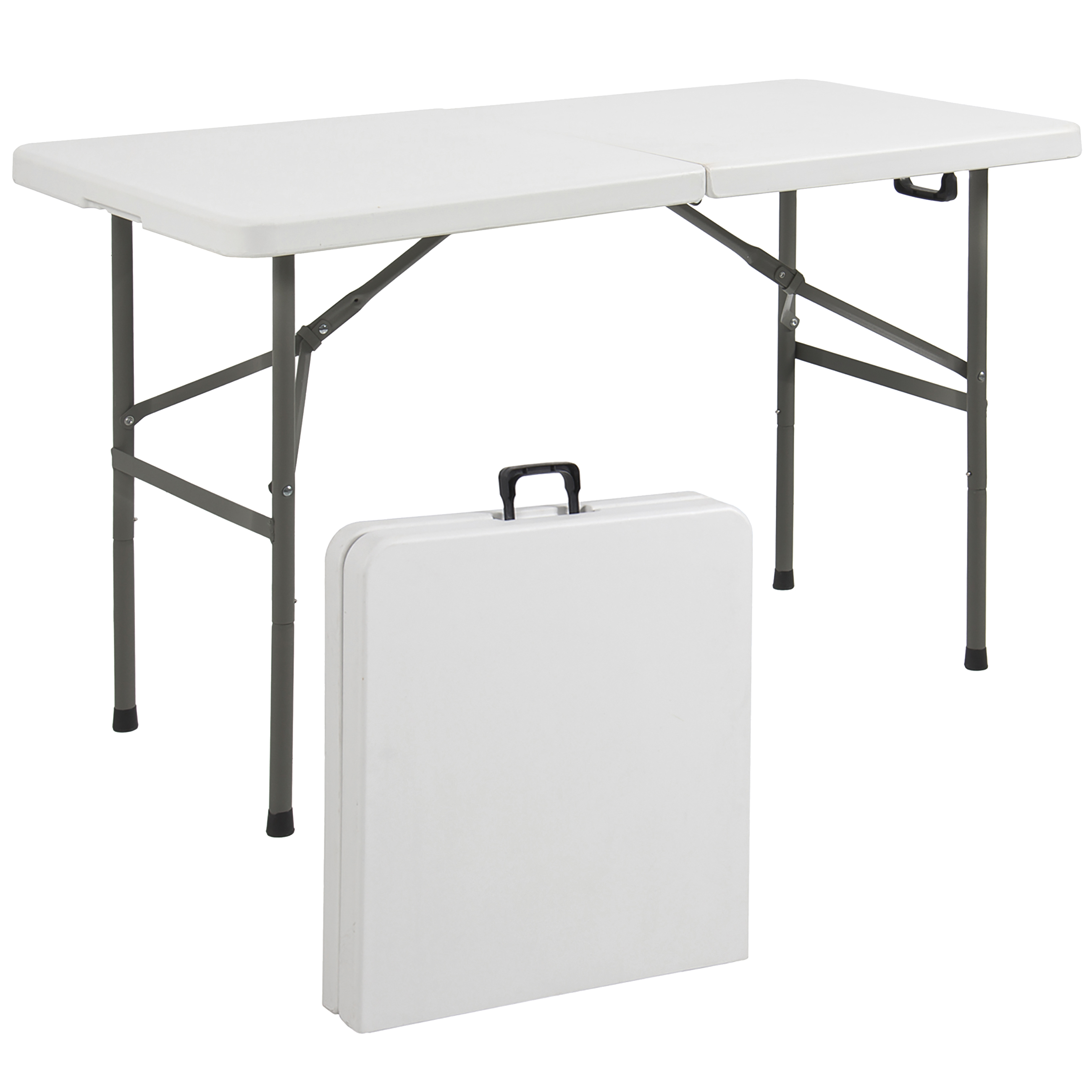 Folding Table Folding Table 4 39 Portable Plastic Indoor Outdoor Picnic