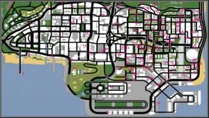 Mirando la ciudad parece que tenga pocas calles:La ciudad de Los ...