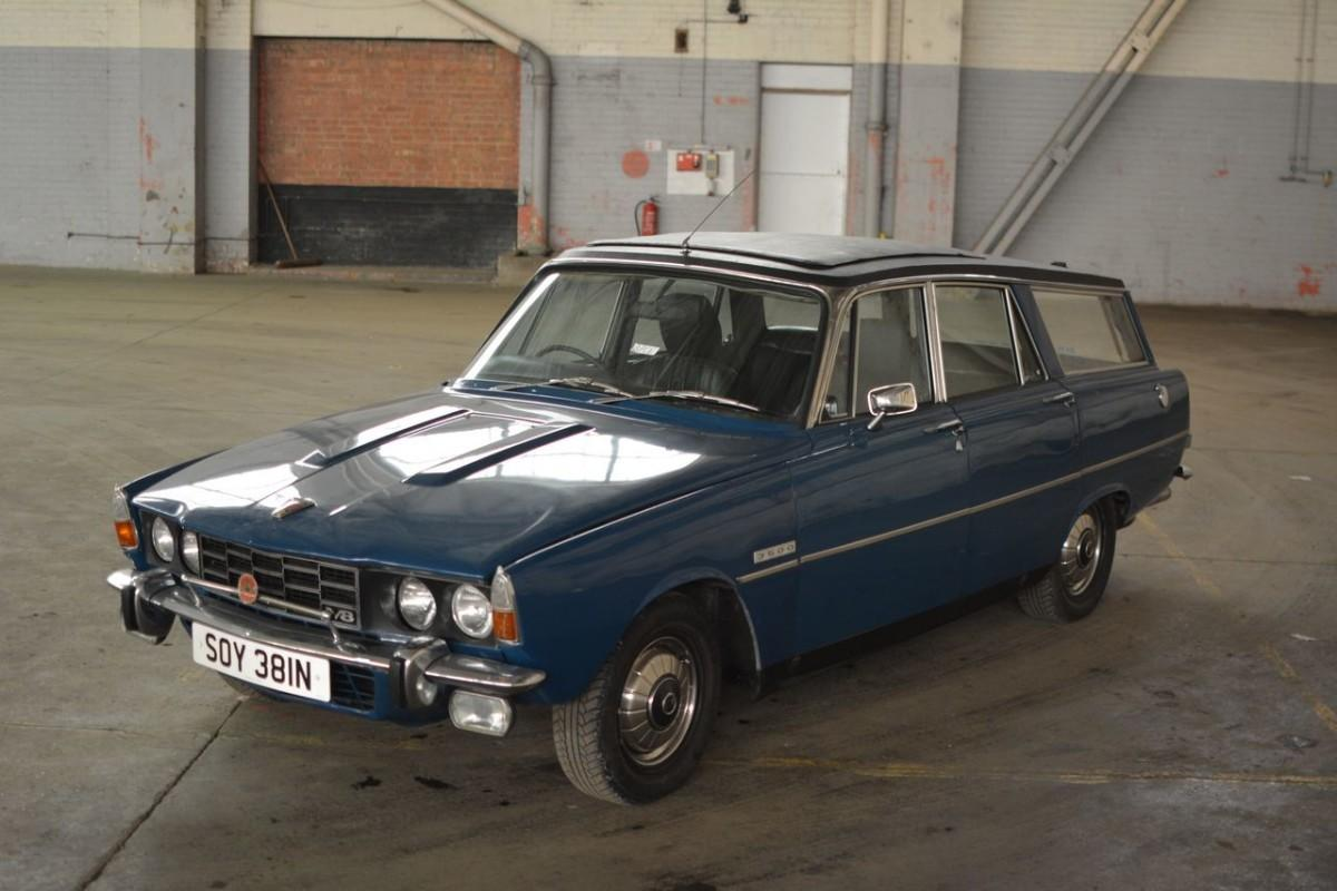 Rover P6 Rover P6 V8 Shooting Brake To Feature In Affordable Classics