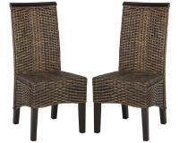 Safavieh Ilya Wicker Dining Chair   eBay