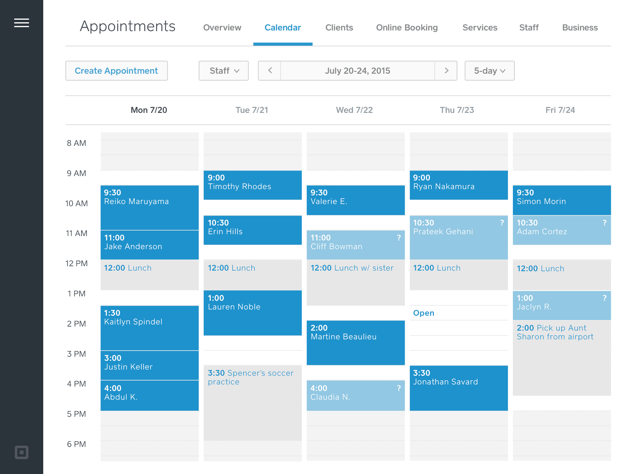 Make Online Calendar Scheduler Setmore Free Online Appointment Scheduling Calendar Software Appointment Scheduling Software Square Appointments