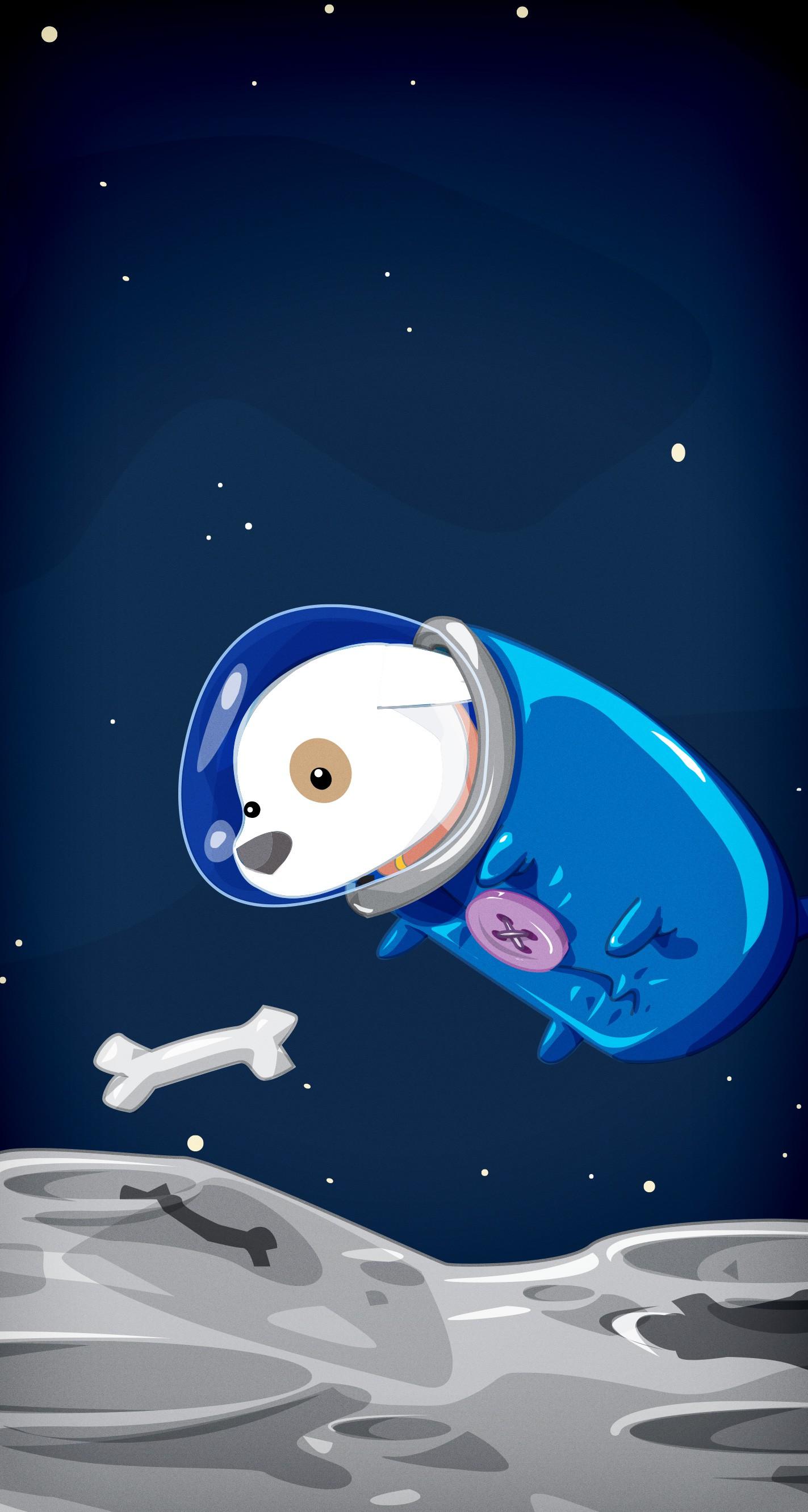 Cool Space Iphone Wallpaper David Lanham Space Doggy