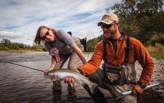 Alaska Fly Fishing Lodge Copper River Lodge