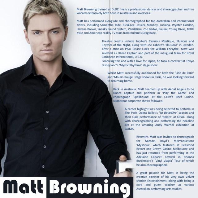Matt bio and headshot