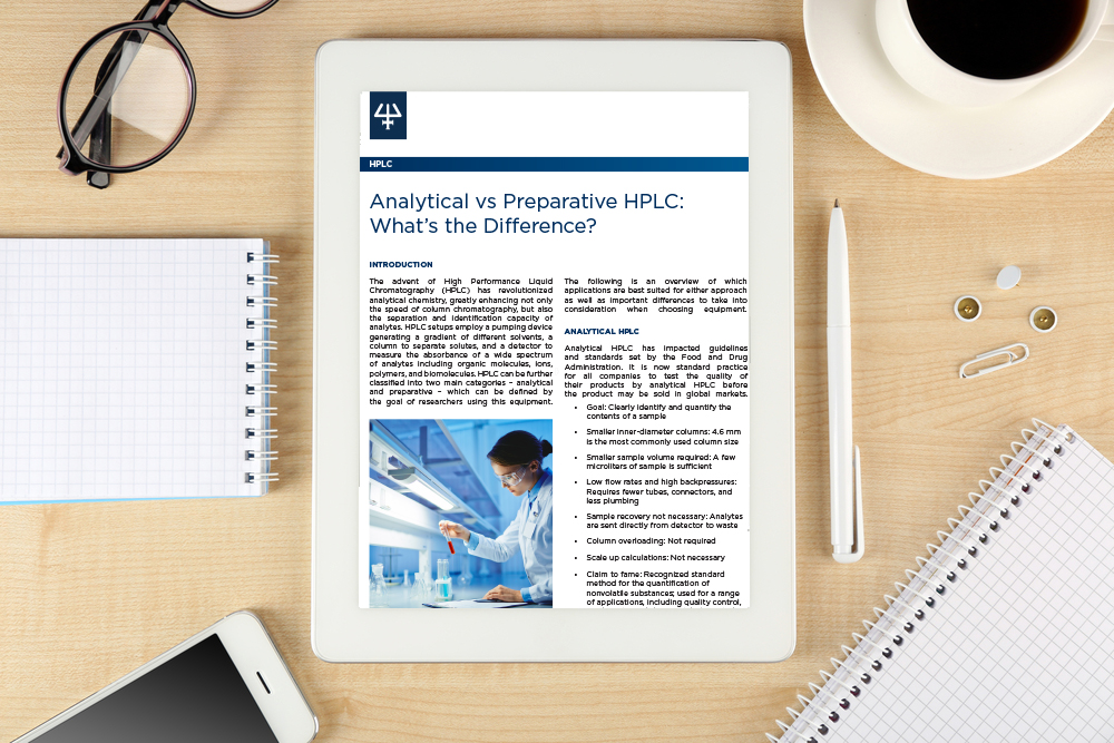 Application Note Analytical vs Preparative HPLC what\u0027s the