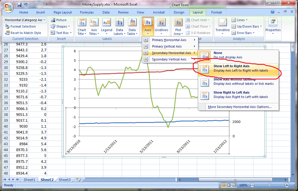 how to make control chart in excel 2007