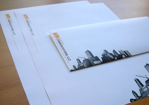 Mia- This is Envelope Design,I like the colour use of this series - free letterhead samples