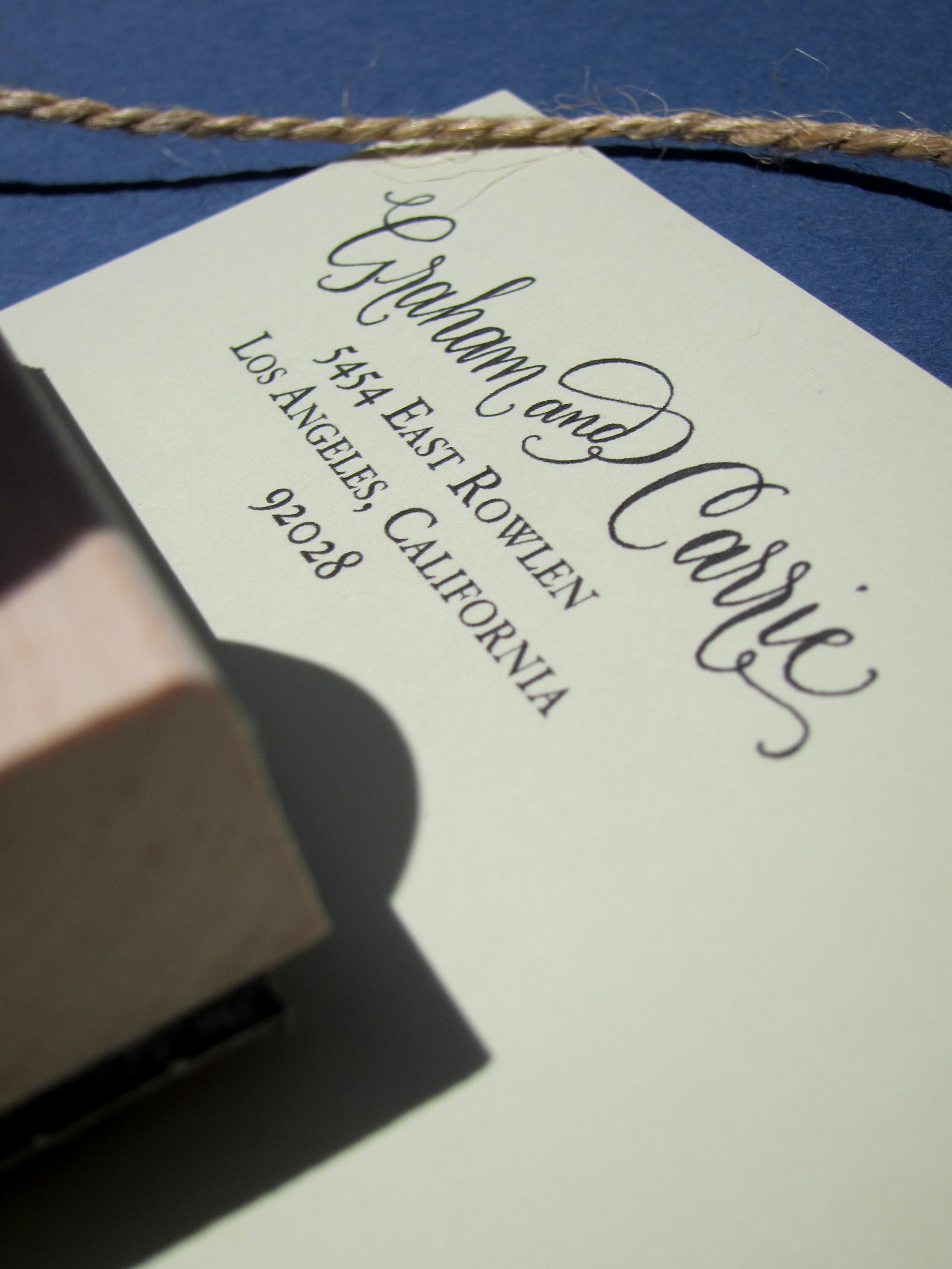 Calligraphy Online Store Custom Calligraphy Address Stamp Hand Calligraphy And
