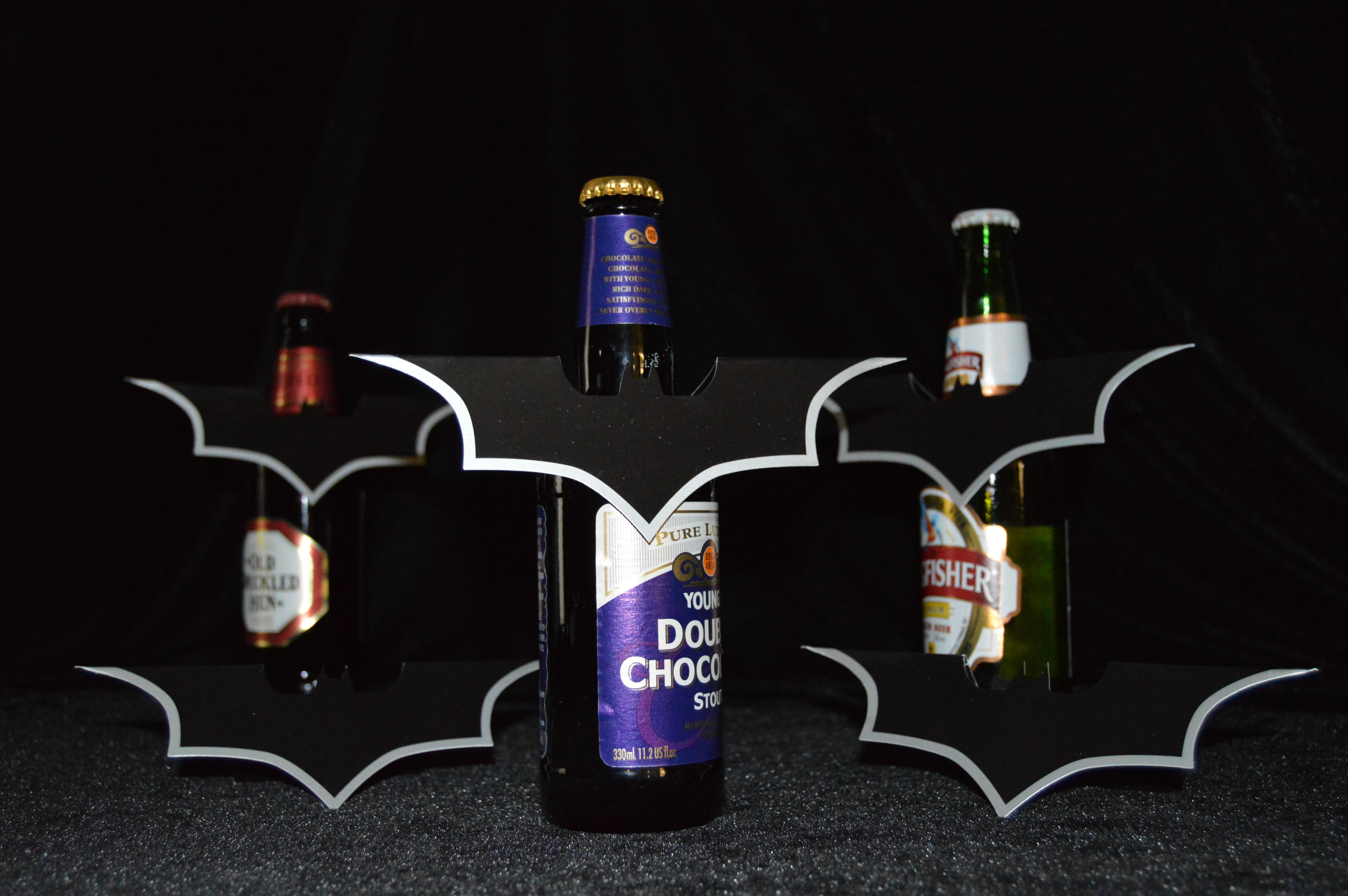 Batman Batarang Table Top Beer Buddy Event Decorations