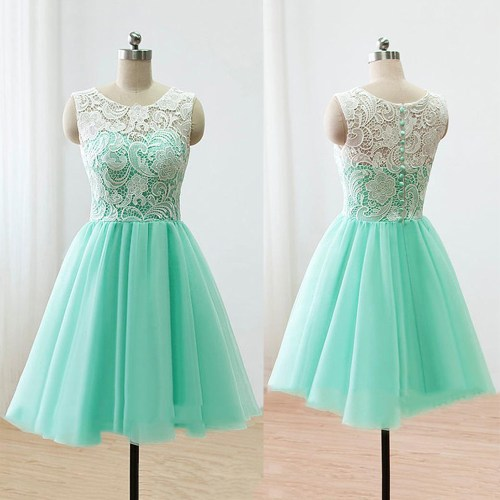 Medium Of Green Prom Dress