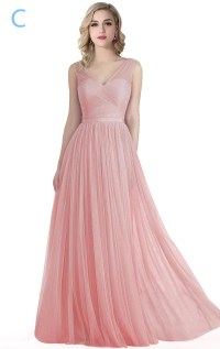 Latest Pink Chiffon Bridesmaid Dresses, Convertable ...
