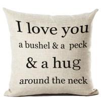 P.S. I Love You More Boutique | A Bushel and A Peck Pillow ...