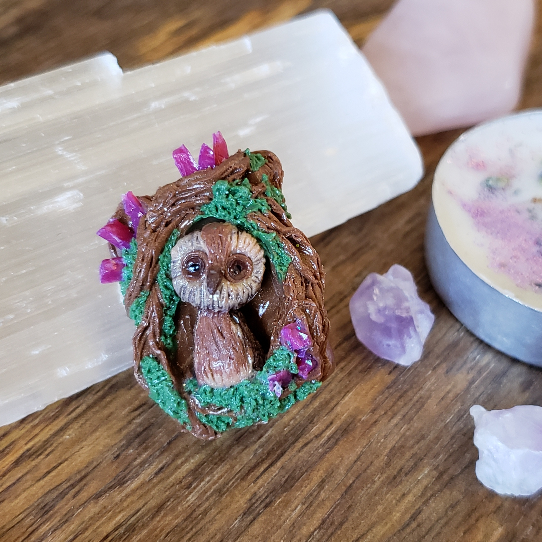 Craft Online Store Café Owl From Luna Soul Crafts