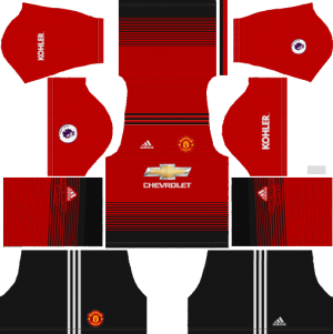 manchester united kits & logo [2018 2019] dream league soccer