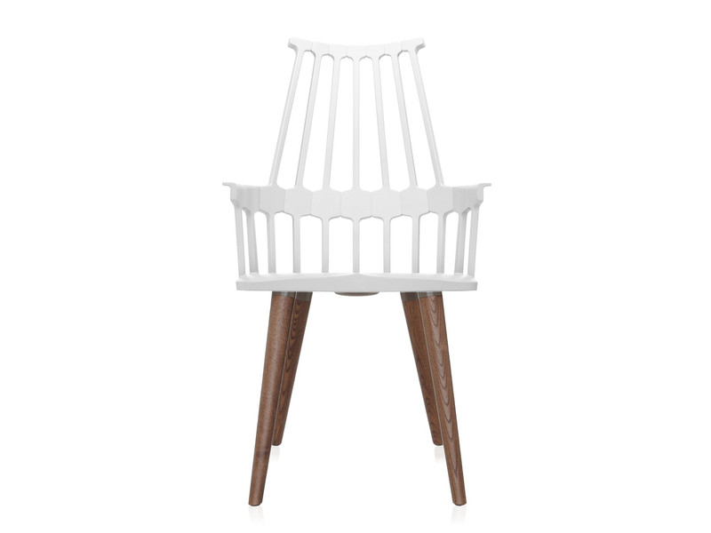 Buy The Kartell Comback Chair With Wooden Legs At Nestcouk