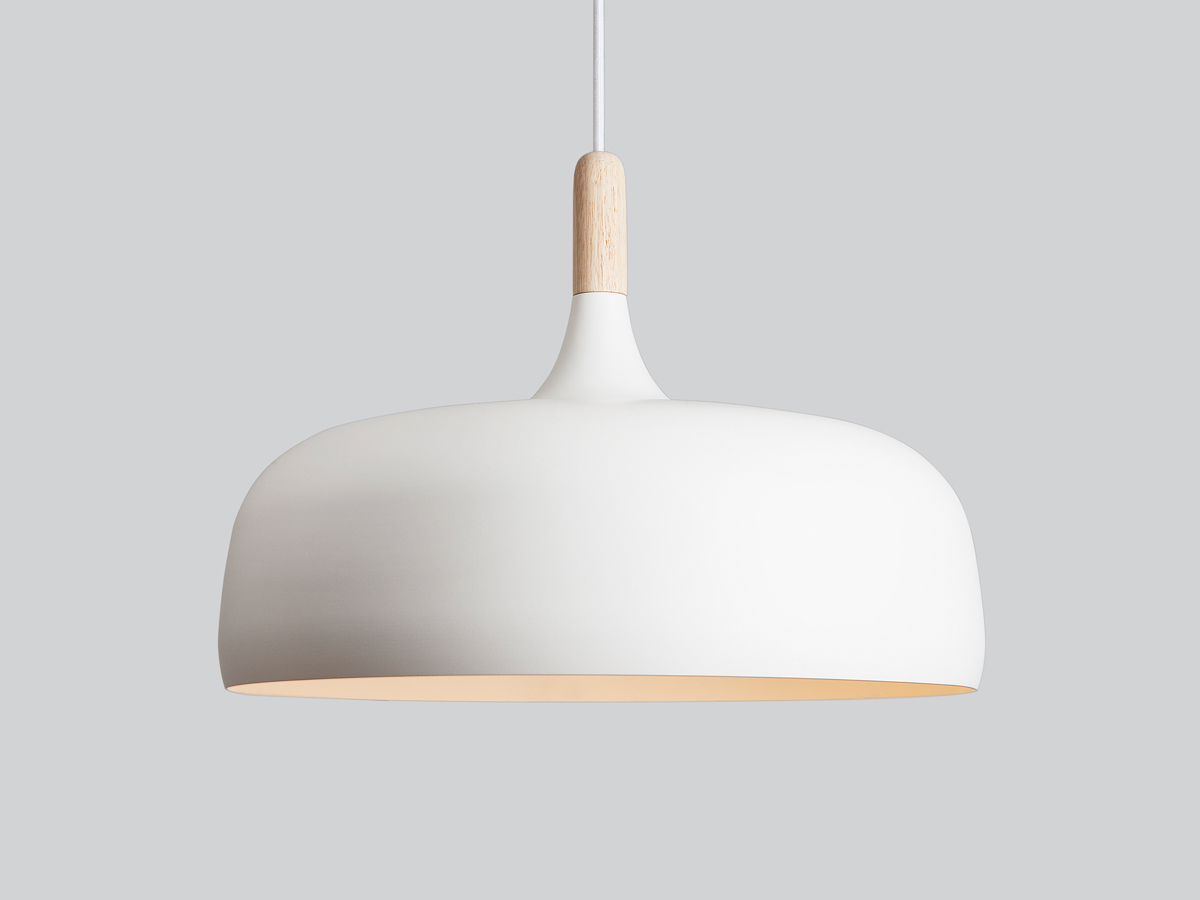 Pendant Lamps Buy The Northern Acorn Pendant Light White At Nest Co Uk