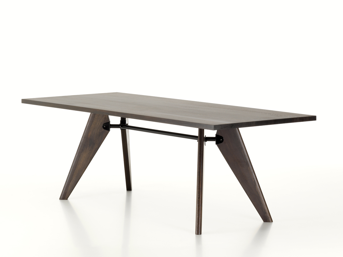 Eames Vitra Table Buy The Vitra Table Solvay Smoked Oak At Nest Co Uk