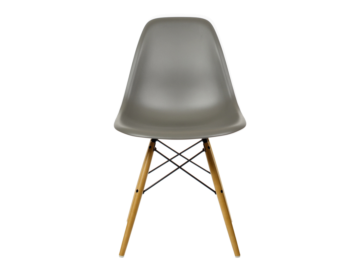 Vitra Eames Side Chair Buy The Vitra Dsw Eames Plastic Side Chair Golden Maple
