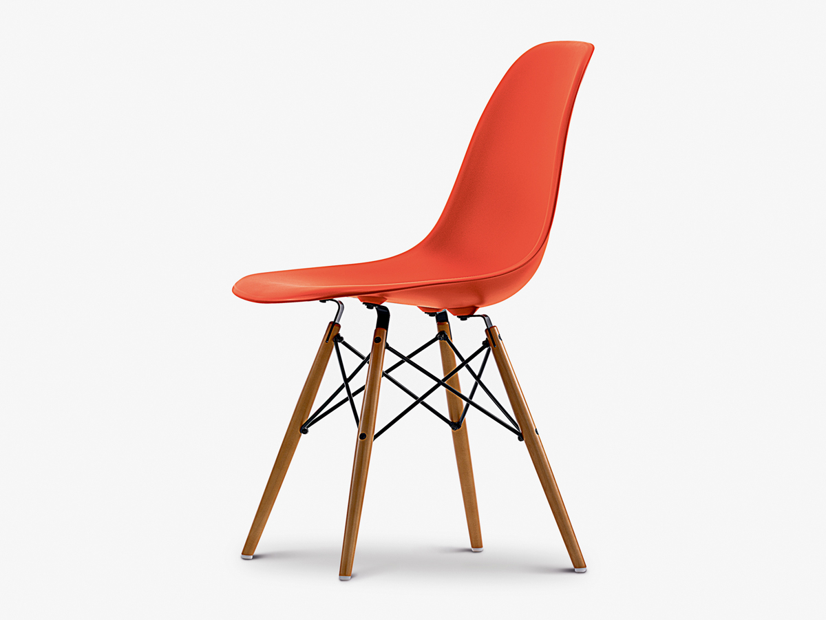 Eames Dsw Buy The Vitra Dsw Eames Plastic Side Chair Golden Maple