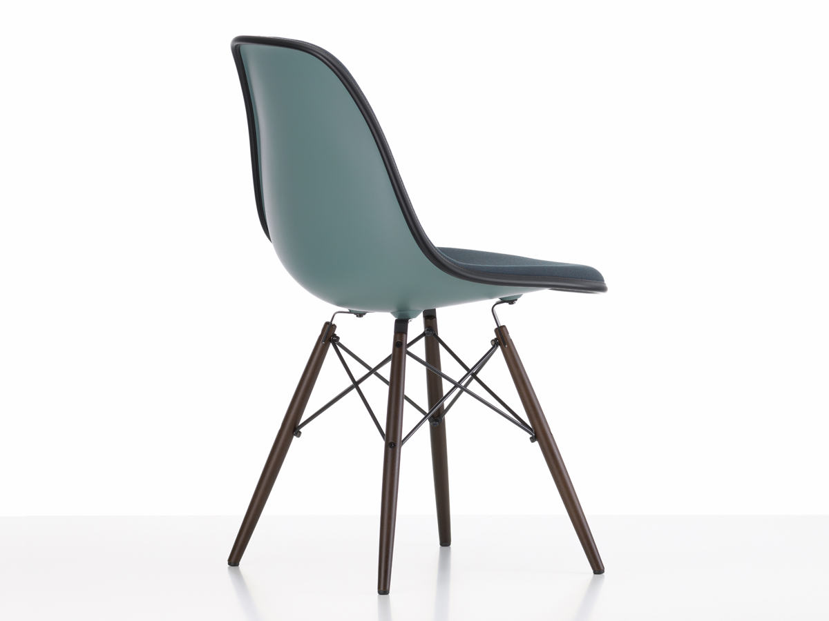 Eames Dsw Buy The Vitra Upholstered Dsw Eames Plastic Side Chair