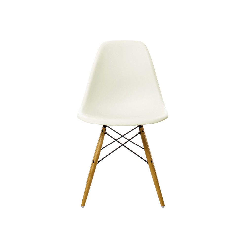Vitra Chair Eames Vitra Dsw Eames Plastic Side Chair Golden Maple Base