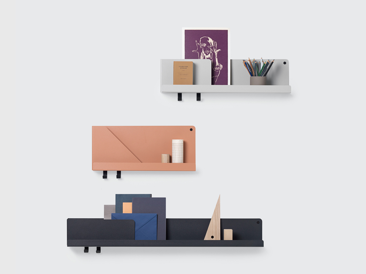 Buy The Muuto Folded Shelves Medium At Nestcouk