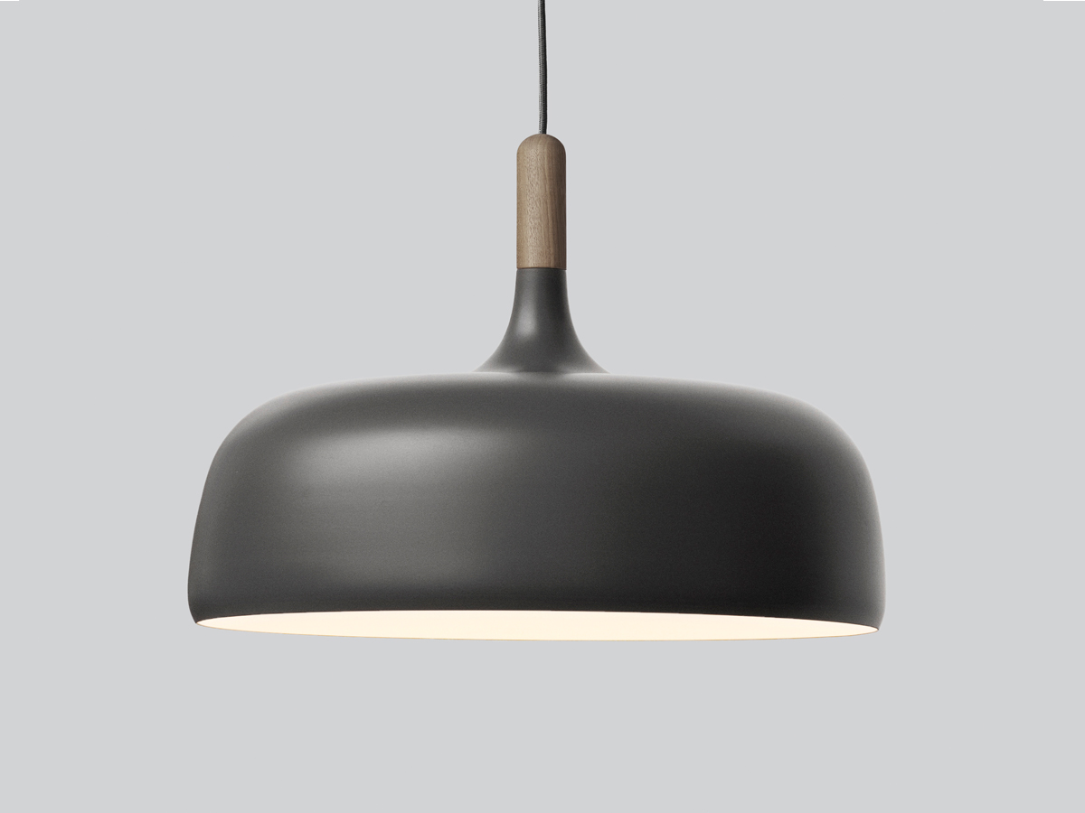 Light Pendants Buy The Northern Acorn Pendant Light Grey At Nest Co Uk
