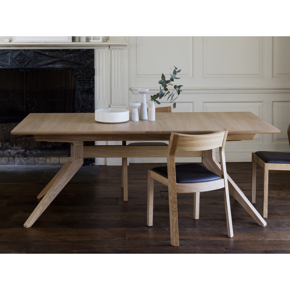 Extending Dining Table Case Furniture Cross Extending Dining Table
