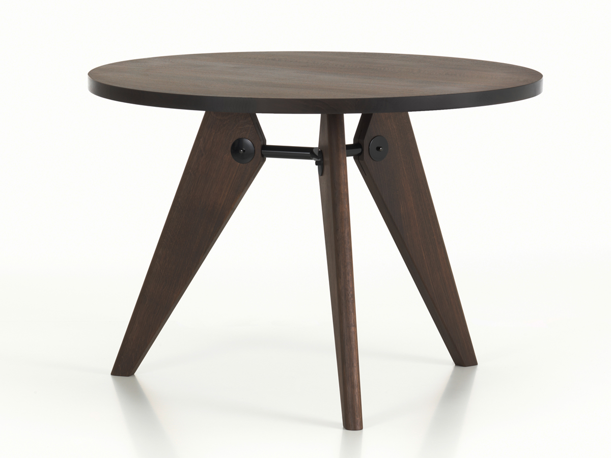 Gueridon Table Buy The Vitra Gueridon Table Smoked Oak At Nest Co Uk