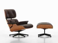 Buy the Vitra Eames Lounge Chair & Ottoman American Cherry ...