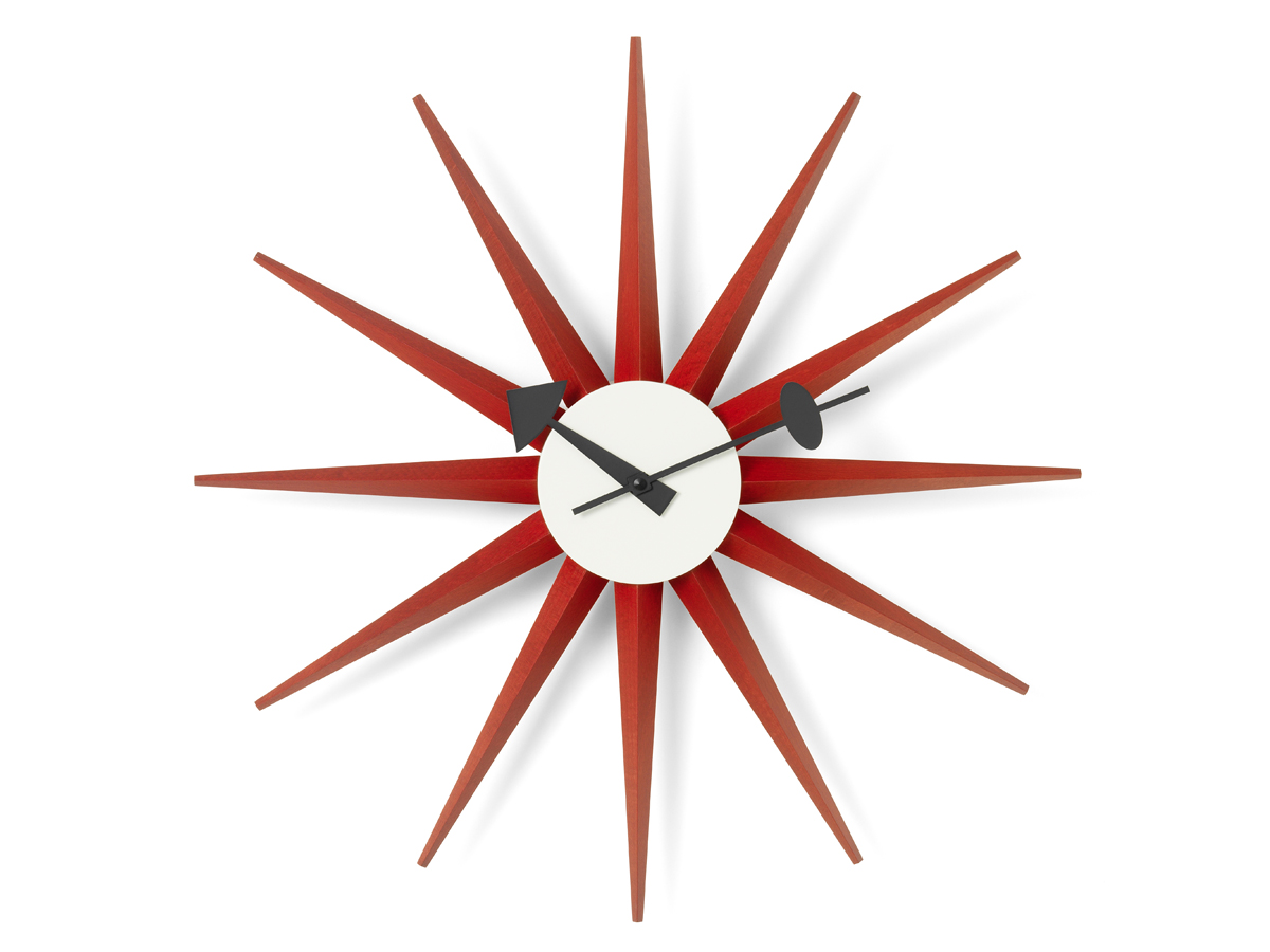 Vitra Clock Buy The Vitra Sunburst Wall Clock At Nest.co.uk