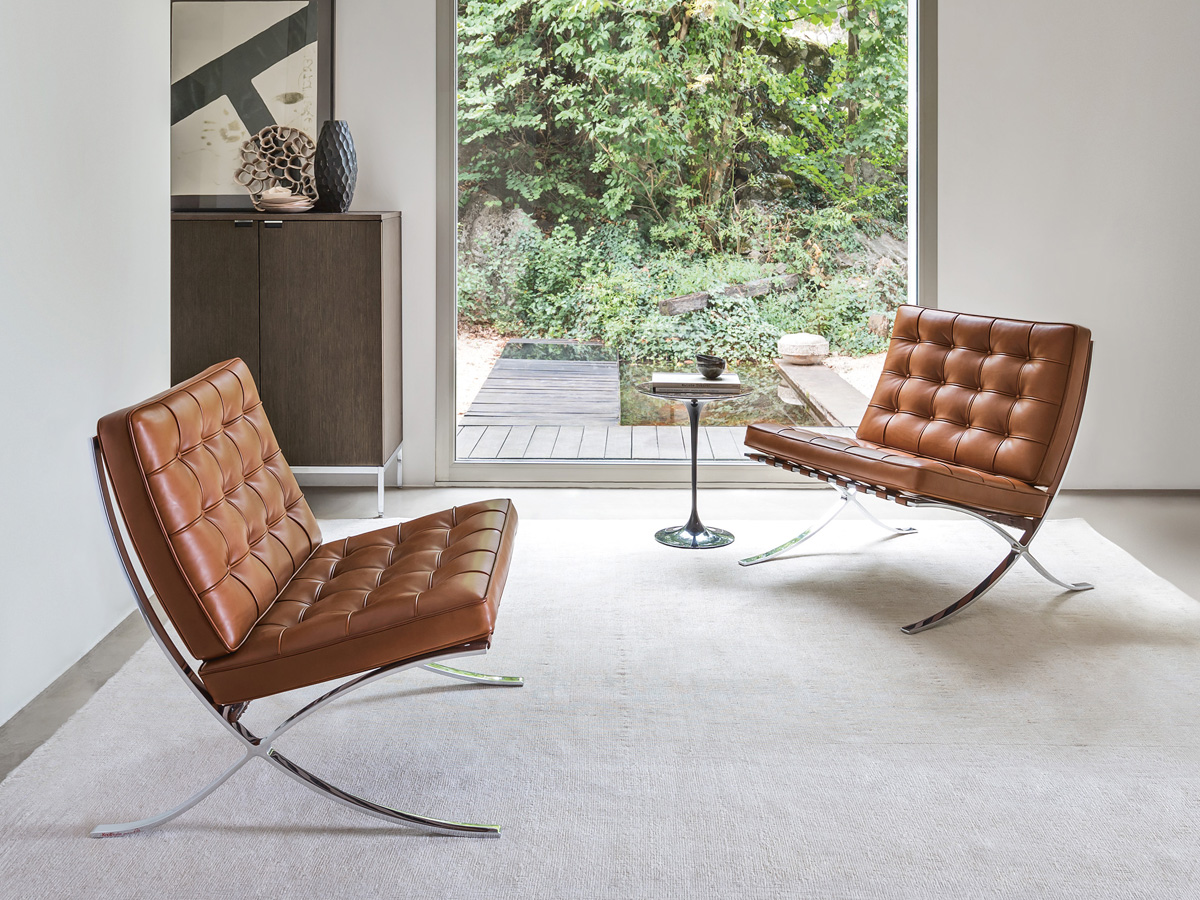 Barcelona Chair Buy The Knoll Studio Knoll Barcelona Chair Relax Version
