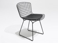 Buy the Knoll Studio Knoll Bertoia Outdoor Side Chair at ...