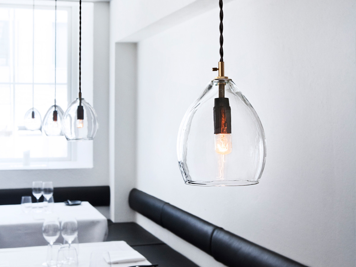 Glass Pendant Lights Buy The Northern Unika Pendant Light Clear Glass At Nest