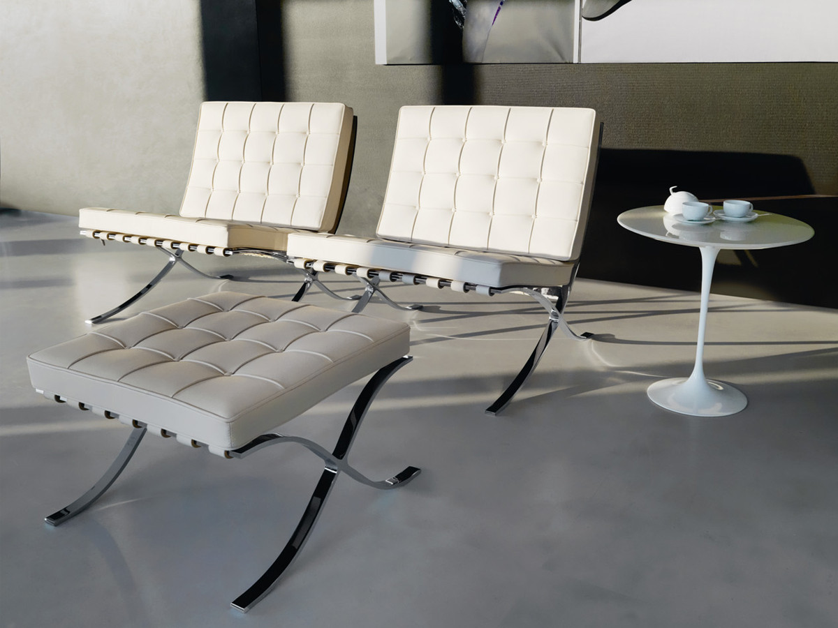 Barcelona Chair Buy The Knoll Studio Knoll Barcelona Chair At Nest Co Uk