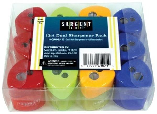 Wholesale Pencil Sharpener Classpack Set Of 12 Sku