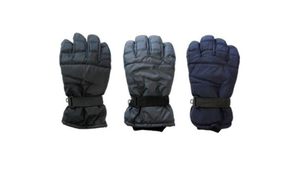 Wholesale Plain Micro Fiber Water Proof Ski Gloves Men Xl