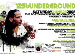 6/28 – Boston House Music Coalition – 1256 Underground