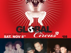 11/8 – David Risque' Presents Global Circus TV 08 – TV Pilot Shoot & Casting Call – Chicago
