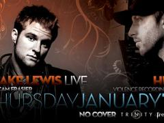 1/15 – Blake Lewis Live & DJ Hive THURS @ Trinity – No Cover 	 – Seattle, WA