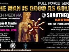1/22 – Full Force w/ Rich Medina @ Sonotheque – Chicago