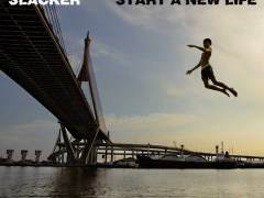 "Slacker pays homage to classic downtempo and chillout records on ""Start A New Life"""