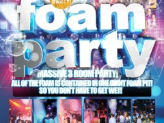 Thursday December 29th Foam Party @ Zero Gravity – Naperville, IL
