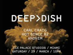 Deep Dish reveals the line up for their much-anticipated Miami Show (3/29/14)