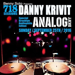 9/25/16 718 Sessions at ANALOG BKNY w/Danny Krivit
