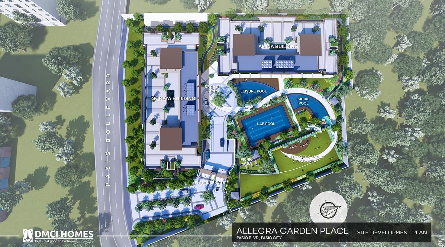 Allegra Garden Place Site Development Plan Dmci Homes Website With Virtual Tour And Live Chat Support