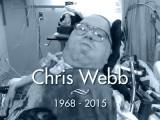 Chris Webb: 1968-2015