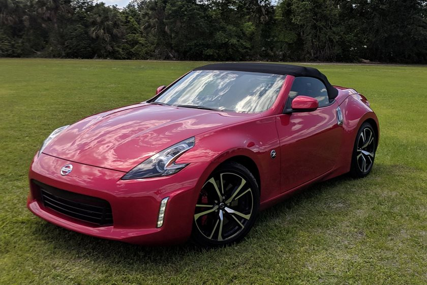 2018 Nissan 370Z Roadster Test Drive Review Leave Technology Behind