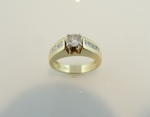 Medium Of Engagement Rings Gold